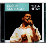 emílio santiago-emilio santiago Emilio Santiago Cd Mega Hits Novo Lacrado Original