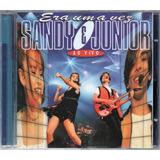 era-era Sandy Junior Cd Era Uma Vez Novo Original Lacrado