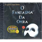 fantasmão-fantasmao Cd O Fantasma Da Opera O Musical Original Novo Lacrado Raro