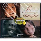 fernanda brum-fernanda brum Box A Fe Em Forma De Cancao 3 Cds Original Lacrado Raro