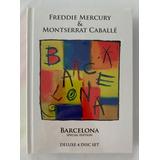 freddie mercury-freddie mercury 3 Cd Dvd Freddie Mercury Montserrat Caballe Deluxe Lacrado