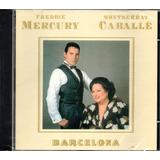 freddie mercury-freddie mercury Cd Freddie Mercury E Montserrat Caballe Barcelona