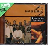 fundo de quintal-fundo de quintal Cd Grupo Fundo De Quintal Roda De Samba