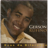 gerson rufino-gerson rufino Cd Gerson Rufino Deus Da Diferenca