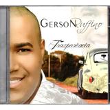 gerson rufino-gerson rufino Cd Gerson Rufino Transparencia Playback Incluso