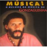 gonzaguinha-gonzaguinha Cd Lacrado Gonzaguinha O Melhor Da Musica De 1998