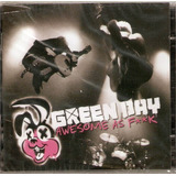 green day-green day Cd Dvd Green Day Awesome As Fk