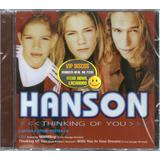 hanson-hanson Cd Hanson Thinking Of You Limited Edition 4 Faixas Raro