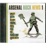 hateen-hateen Cd Arsenal Rock News 1 Cpm 22 Nx Zero Leela Hateen