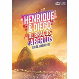 henrrique e diego-henrrique e diego Dvd Cd Henrique E Diego De Bracos Abertos