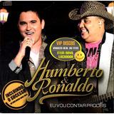 humberto e ronaldo-humberto e ronaldo Cd Humberto E Ronaldo Eu Vou Contar Proces Sucessos Raro