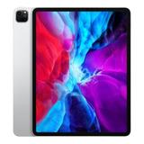 iPad Apple Pro 4th Generation 2020 A2229 12.9 256gb Prateado Com 6gb De Memória Ram