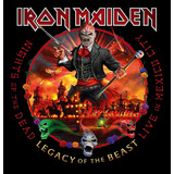 iron maiden-iron maiden Cd Duplo Iron Maiden Nights Of The Dead Legacy Of The B