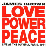 james brown-james brown Cd Love Power Peace Live In Paris 71 James Brown Lacrado