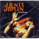 janis joplin-janis joplin Cd Janis Joplin 18 Essential Songs