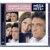 johnny cash-johnny cash Cd Johnny Cash E June Carter Cash Mega Hits