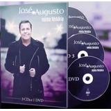 josé augusto-jose augusto Dvd Jose Augusto Minha Historia 3cds 1 Dvd