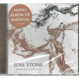 joss stone-joss stone Cd Joss Stone Water For Your Soul 2015 Novo Lacrado