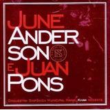 juanes-juanes Cd Lacrado June Anderson E Juan Pons Ao Vivo No Teatro Munic