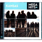 kansas-kansas Cd Kansas Mega Hits Internacional Raridade Internacional