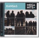 kansas-kansas Kansas Cd Mega Hits Novo Lacrado