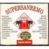 laura pausini-laura pausini Cd Super Sanremo 94 Duplo Importado Laura Pausini Giorgia