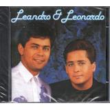 leandro e leonardo-leandro e leonardo Cd Leandro E Leonardo Sonho Por Sonho