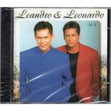 leandro e leonardo-leandro e leonardo Leandro E Leonardo Cd Vol 9 1995 Novo Lacrado Original