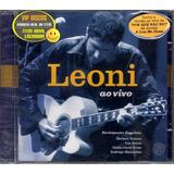 leoni-leoni Cd Leoni Ao Vivo Original Novo Lacrado Raro