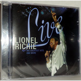 lionel richie-lionel richie Cd Lionel Richie Live Greatest Hits And More
