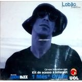 lobão-lobao Cd Lacrado Lobao Inedito Single Revista Show Bizz