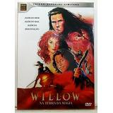 mag-mag Willow Na Terra Da Magia Dvd Duplo Cd Dub Leg Lacrado