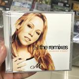 mariah carey-mariah carey Mariah Carey The Remixes Importado Cd Duplo lacrado