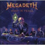 megadeth-megadeth Cd Megadeth Rust In Peace 1990 Lacrado