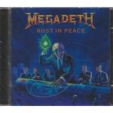 megadeth-megadeth Cd Megadeth Rust In Peace Lacrado
