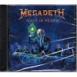 megadeth-megadeth Megadeth Cd Rust In Peace Novo Original Lacrado