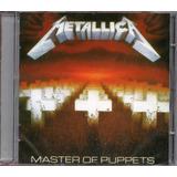 metallica-metallica Cd Metallica Master Of Puppets Novo Lacrado Original