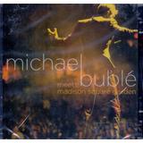 michael buble-michael buble Cd Michael Buble Meets Madison Square Garden