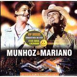 munhoz e mariano-munhoz e mariano Cd Munhoz E Mariano Ao Vivo Em Campo Grande Vol 2 Promo Raro