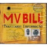 mv bill-mv bill Cd Mv Bill Traficando Informacao Single Promo Lacrado Raro