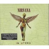 nirvana-nirvana Cd Nirvana In Utero 20 Ann Deluxe 43 Tracks Lacrado