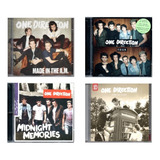 one direction-one direction Kit Com 4 Cds One Direction Os Cds Da Foto