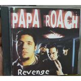 papa roach-papa roach Cd Papa Roach Revenge Importado B343