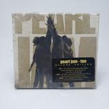 pearl jam-pearl jam Box 2 Cds 1 Dvd Pearl Jam Ten Original Lacrado