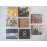 pearl jam-pearl jam Colecao Com 8 Cds Pearl Jam Originais E Perfeitos