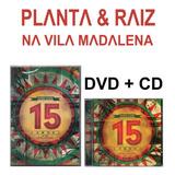 planta e raiz-planta e raiz Planta Raiz Dvd Cd 15 Anos Ao Vivo Na Vila Madalena Novo
