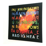 radiohead-radiohead Quadro Radiohead In Rainbow Capa Do Lp Cd Mega Premium 30x30