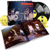 ramones-ramones Ramones Its Alive 40th 2 Lps 4 Cds Box Deluxe Lacrado