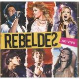 rebelde (brasil)-rebelde (brasil) Cd Rebeldes Nacional Ao Vivo Novo