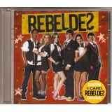 rebelde (brasil)-rebelde (brasil) Cd Rebeldes Trilha Sonora Da Novela Novo